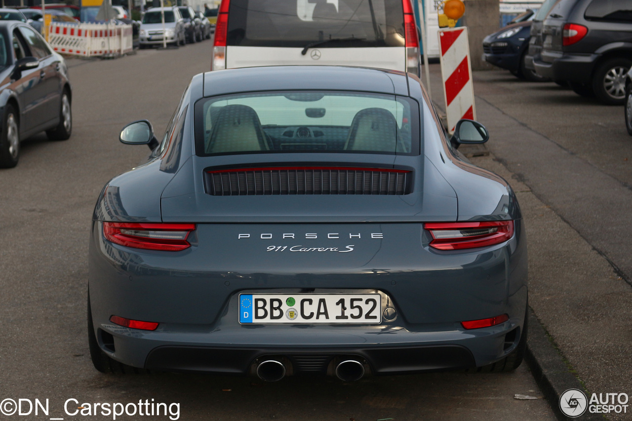 Porsche 991 Carrera S MkII  2 November 2015  Autogespot