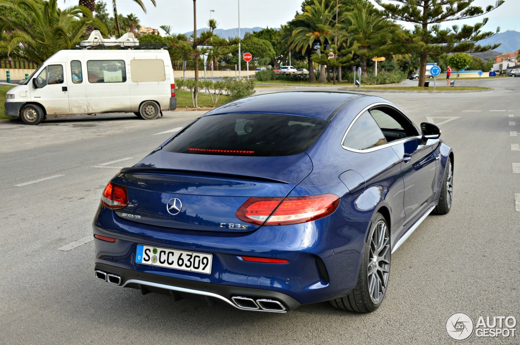 mercedes amg c 63 s coup c205 4 november 2015 autogespot. Black Bedroom Furniture Sets. Home Design Ideas