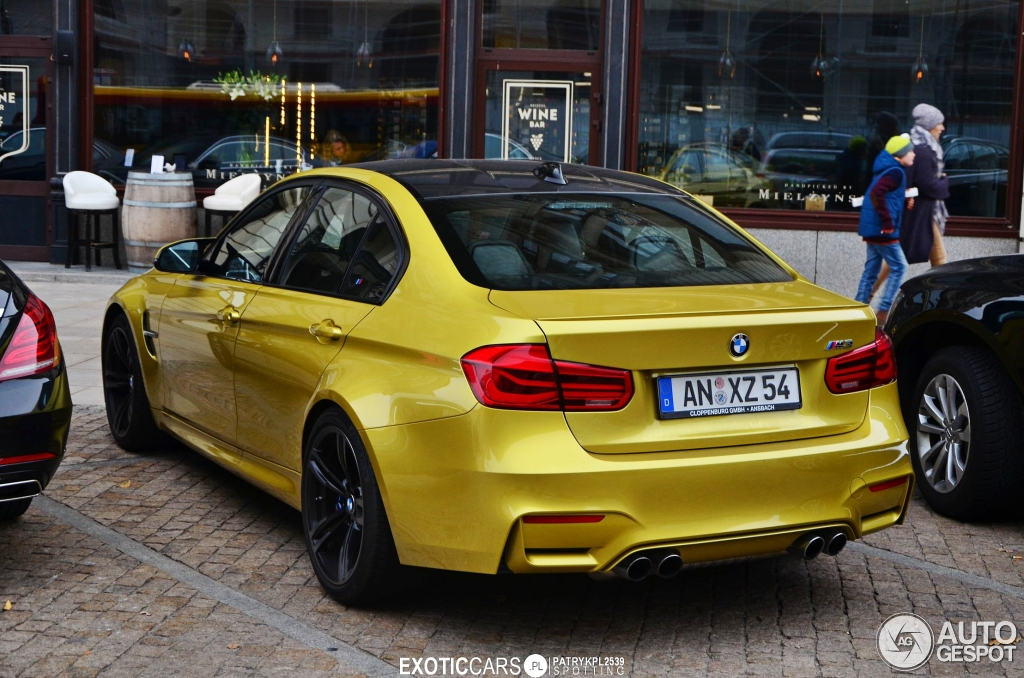 Bmw M3 F80 Sedan 2016 6 November 2015 Autogespot