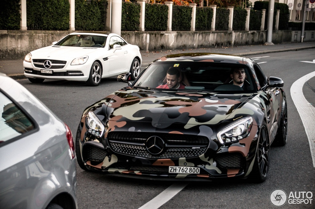 Mercedes Amg Gt S C190 7 November 2015 Autogespot