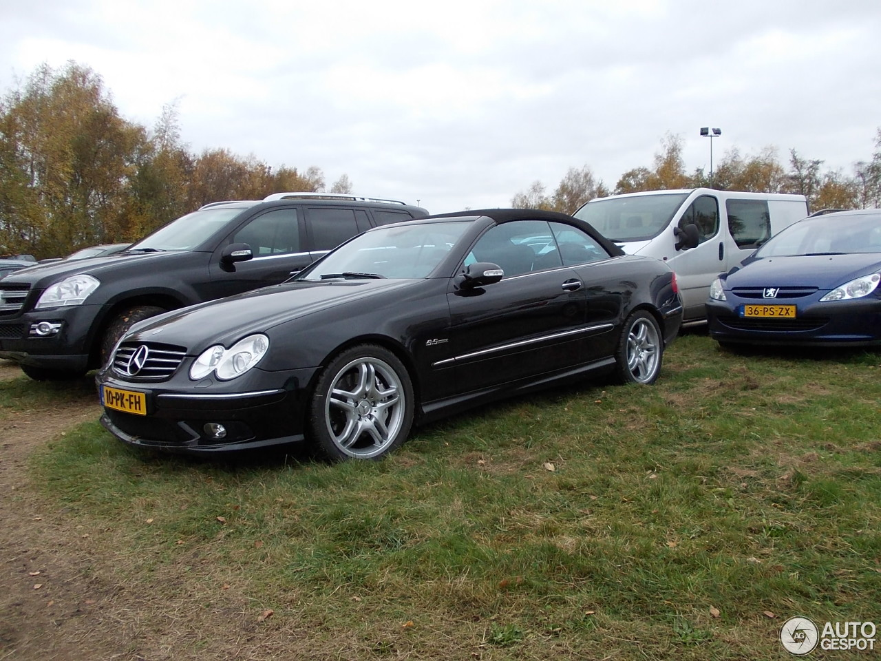 mercedes benz clk 55 amg cabriolet 8 november 2015 autogespot. Black Bedroom Furniture Sets. Home Design Ideas