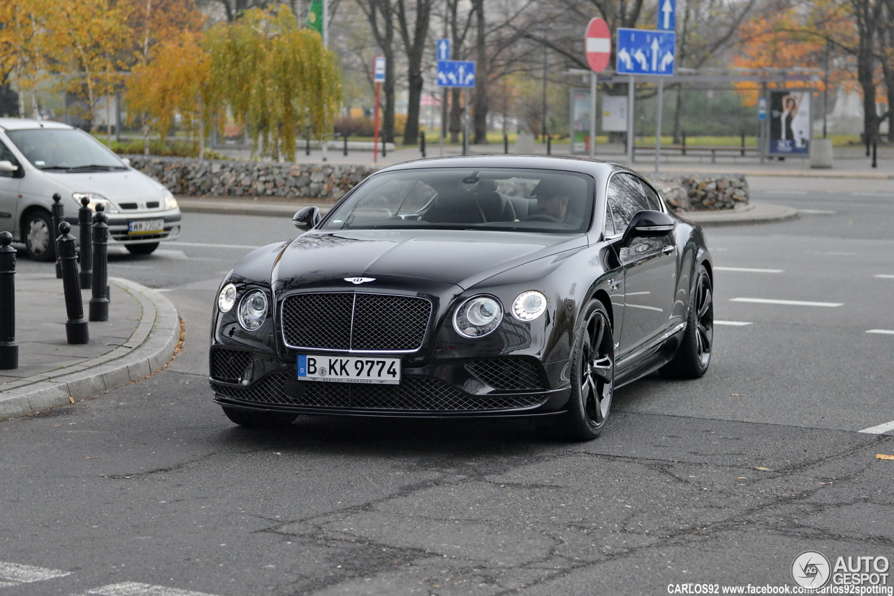 bentley continental gt speed 2016 13 november 2015 autogespot. Cars Review. Best American Auto & Cars Review