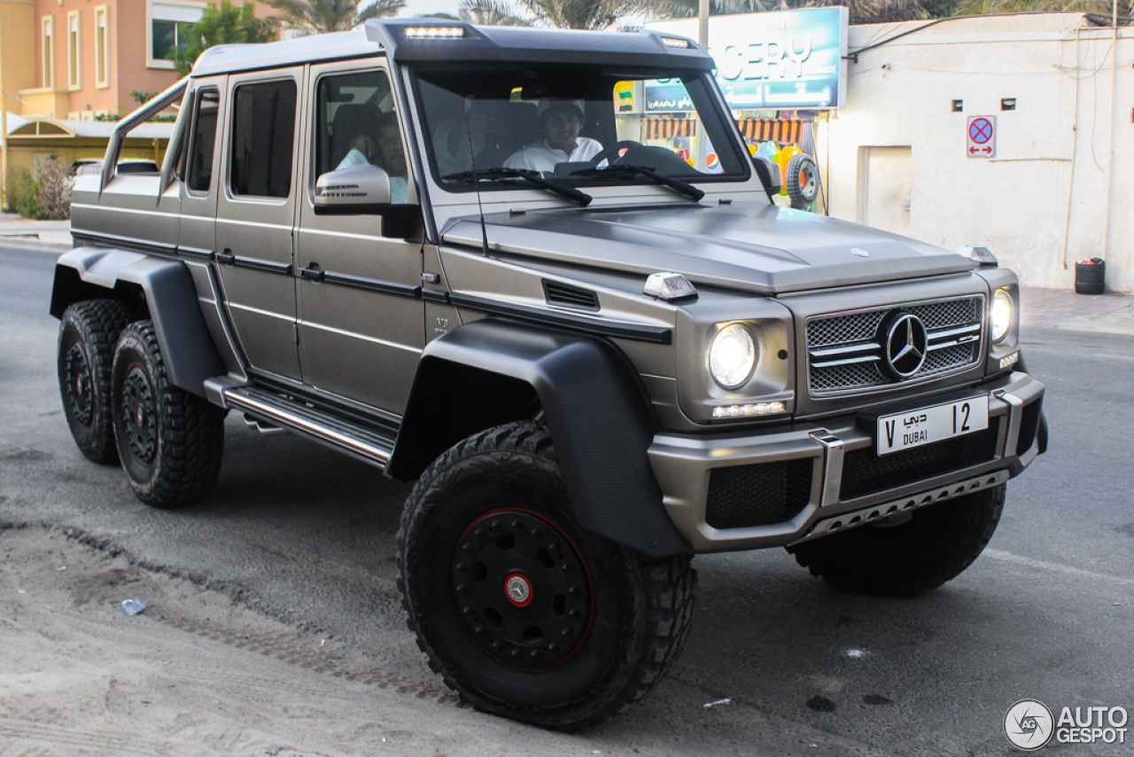 Mercedes benz g 63 amg 6x6 14 november 2015 autogespot for Mercedes benz amg 6x6 price
