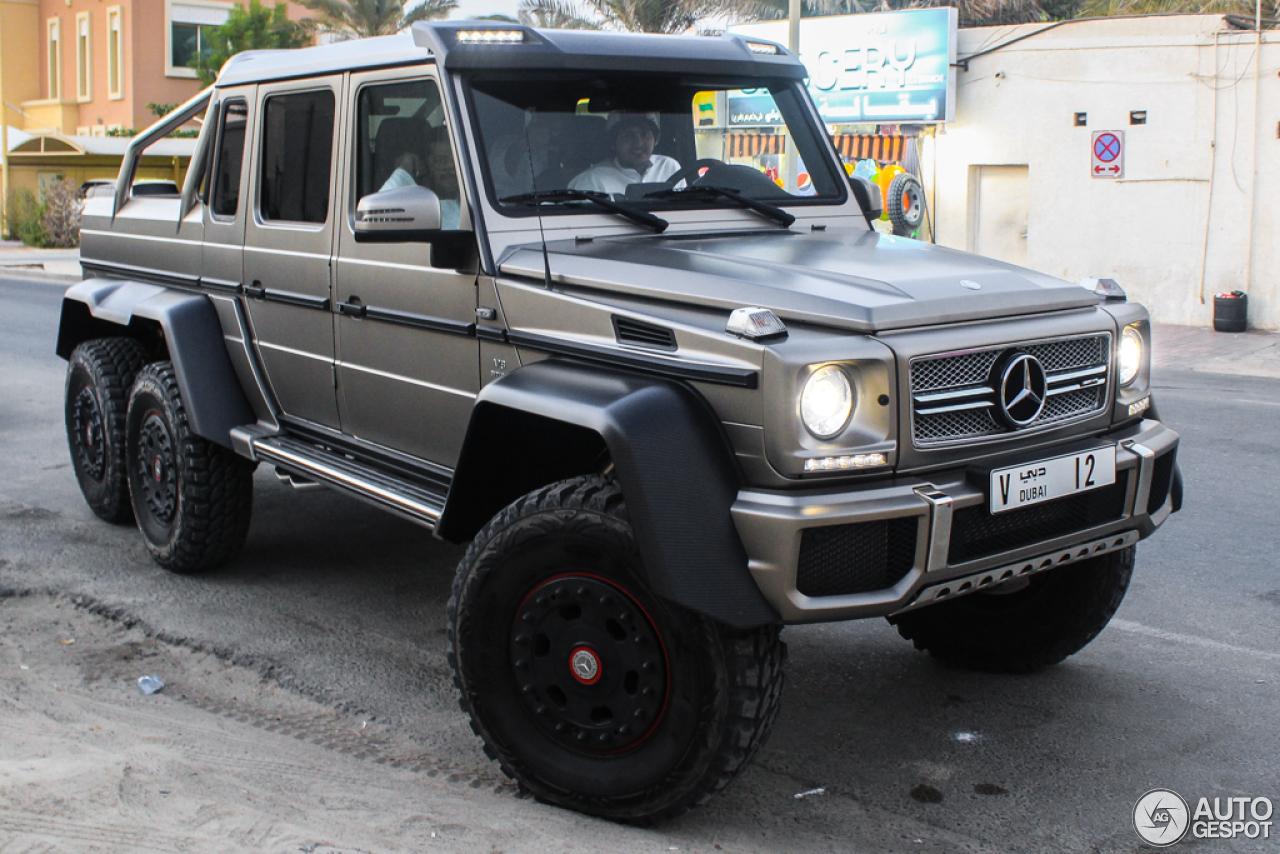 Mercedes benz g 63 amg 6x6 14 november 2015 autogespot for Mercedes benz amg 6x6 price