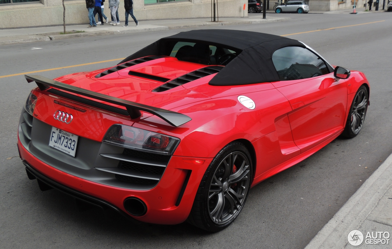 audi r8 gt spyder 17 november 2015 autogespot. Black Bedroom Furniture Sets. Home Design Ideas