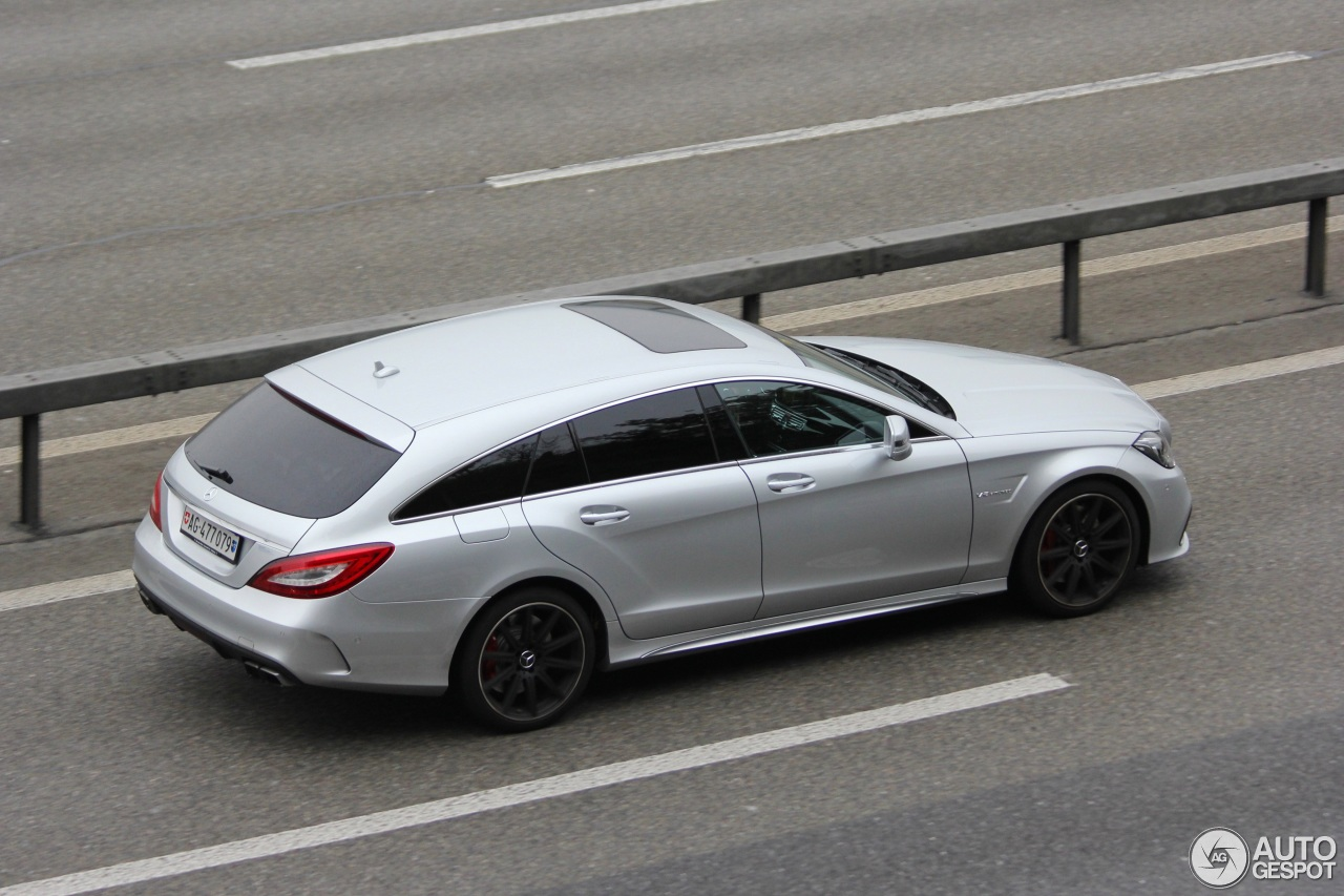 Mercedes benz cls 63 amg x218 shooting brake 2015 19 for Mercedes benz cls 63 amg price