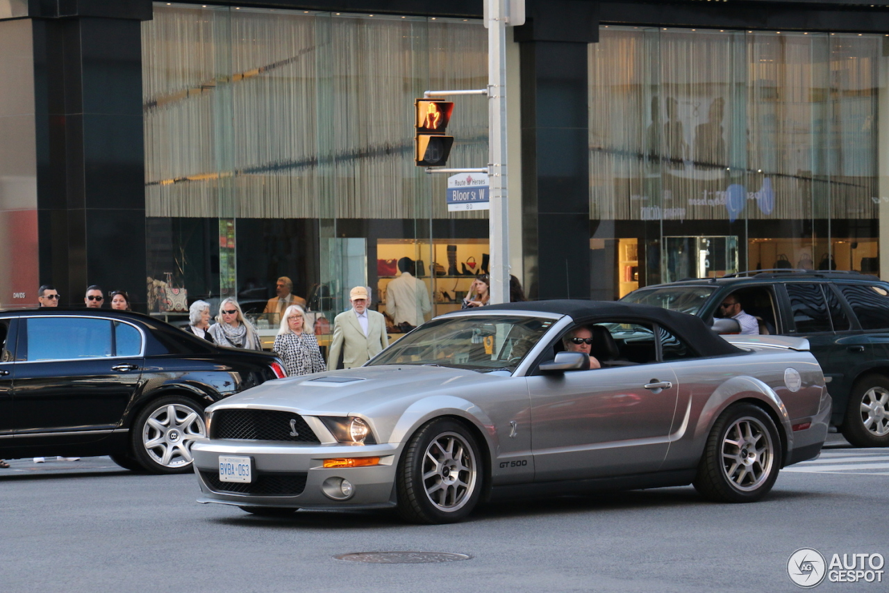 ford mustang shelby gt500 convertible 21 november 2015 autogespot. Cars Review. Best American Auto & Cars Review