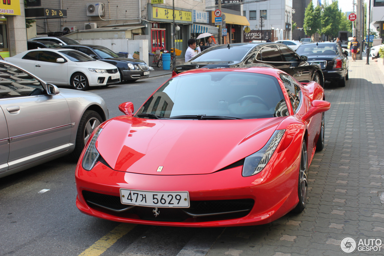 ferrari 458 spider 24 november 2015 autogespot. Black Bedroom Furniture Sets. Home Design Ideas