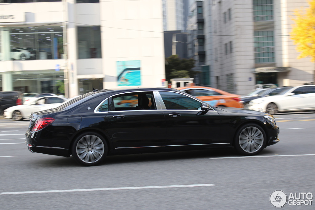 Mercedes maybach s600 24 november 2015 autogespot for Mercedes benz maybach 6 price