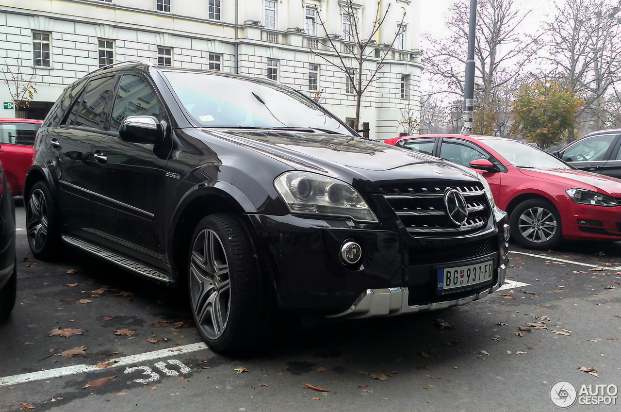 Mercedes benz ml 63 amg w164 2009 25 november 2015 for Mercedes benz ml 2015