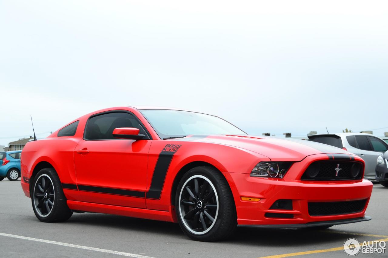 ford mustang boss 302 2013 26 november 2015 autogespot. Black Bedroom Furniture Sets. Home Design Ideas