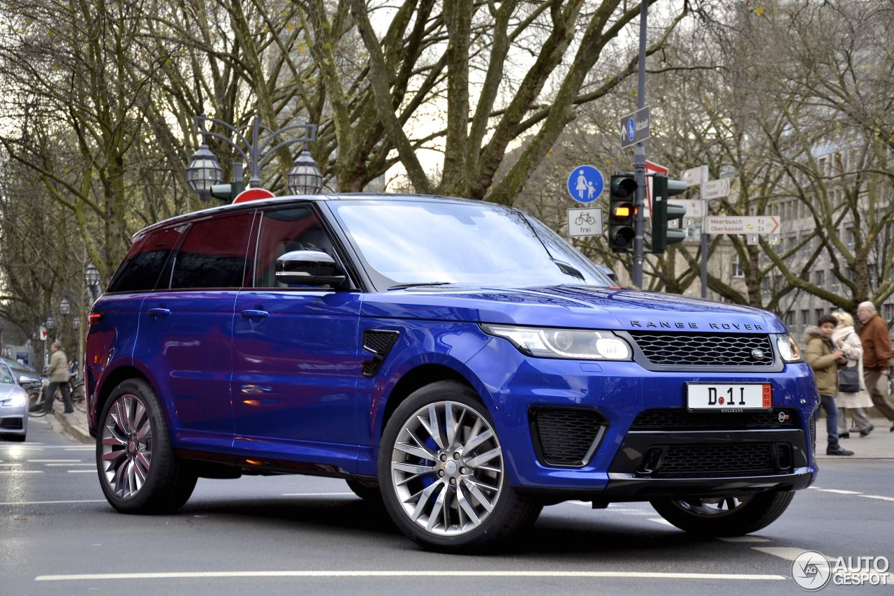 land rover range rover sport svr 26 november 2015 autogespot. Black Bedroom Furniture Sets. Home Design Ideas