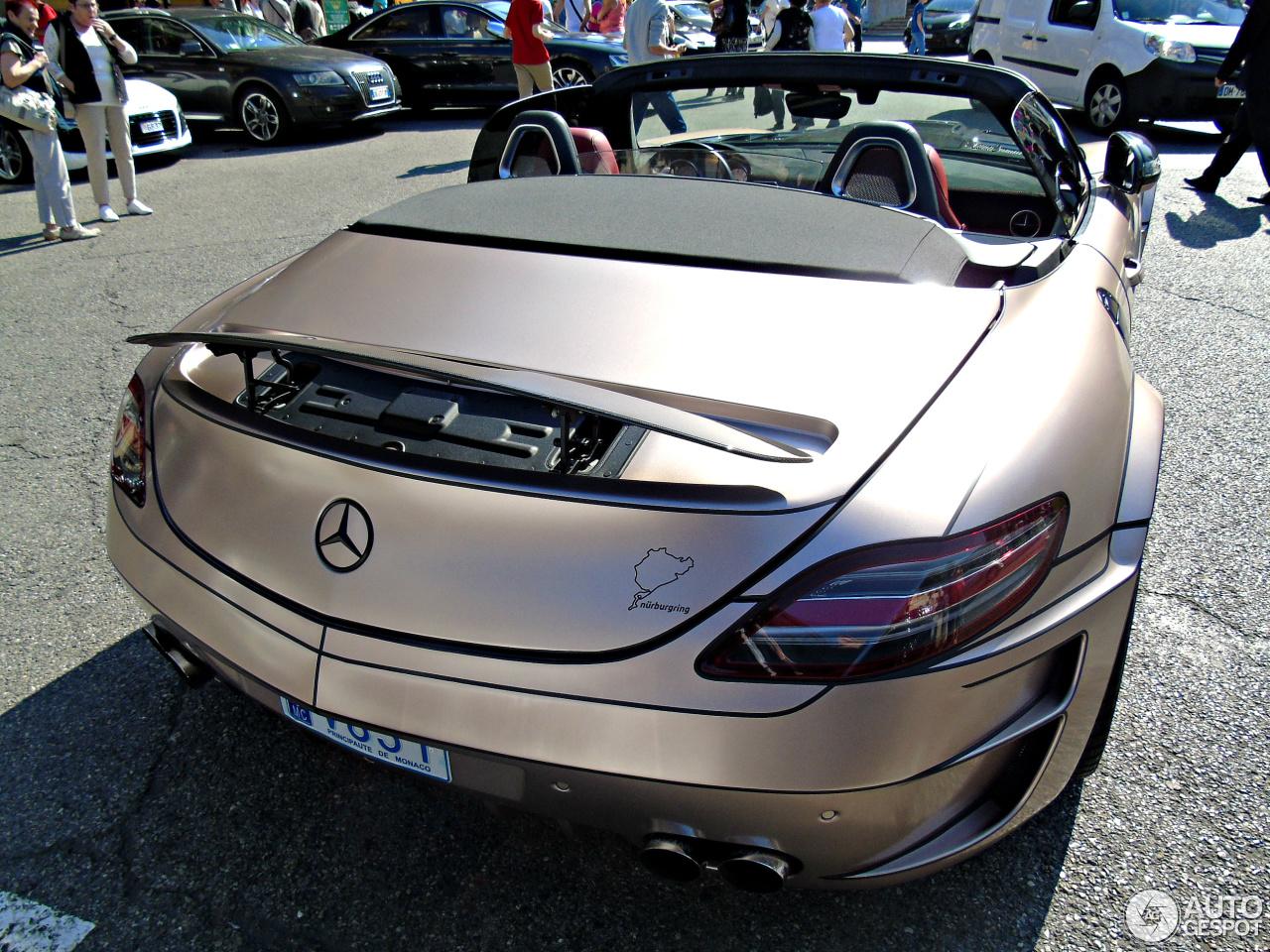 Mercedes benz hamann hawk sls amg roadster 28 november for Mercedes benz hamann