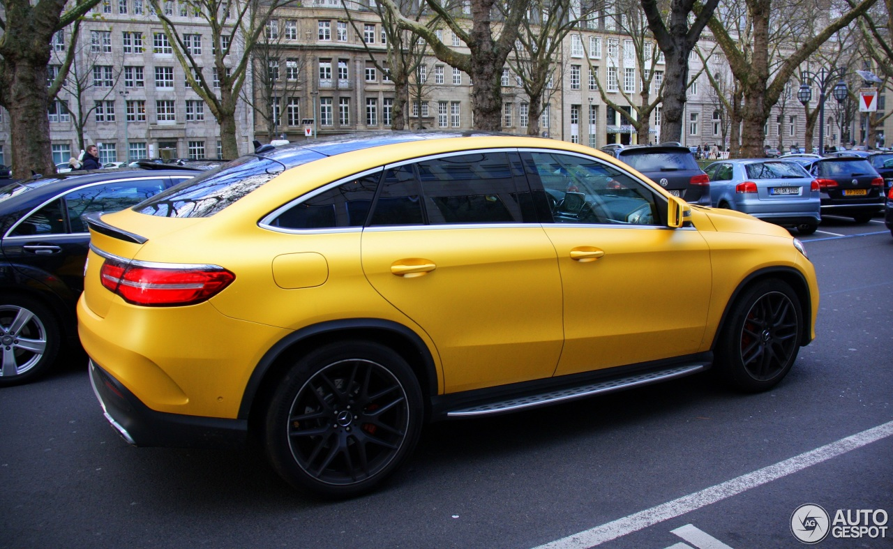 mercedes amg gle 63 s coup 29 november 2015 autogespot. Black Bedroom Furniture Sets. Home Design Ideas