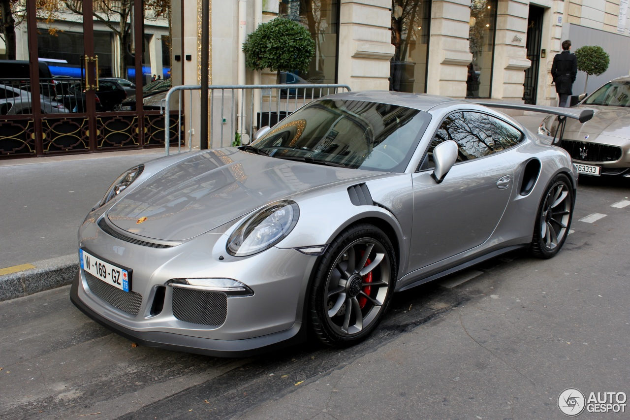 porsche 991 gt3 rs 3 dcembre 2015 autogespot. Black Bedroom Furniture Sets. Home Design Ideas
