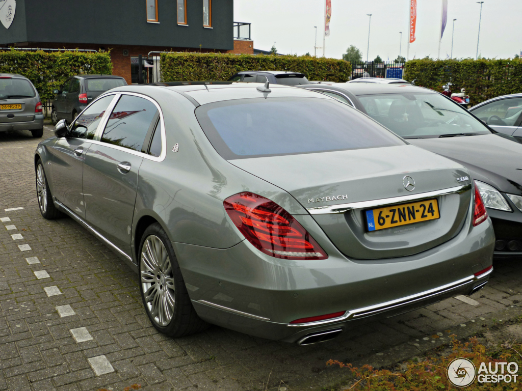 mercedes maybach s600 4 dcembre 2015 autogespot. Black Bedroom Furniture Sets. Home Design Ideas