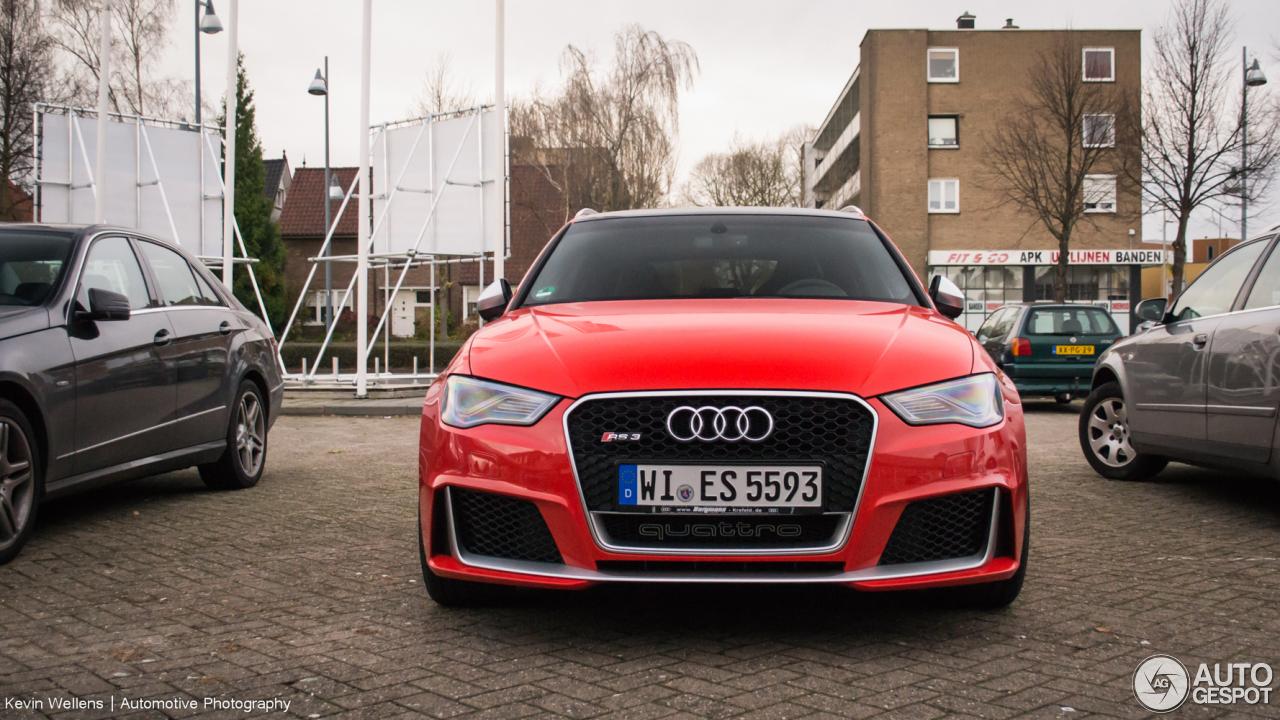 Audi RS3 Sportback 8V - 6 December 2015 - Autogespot