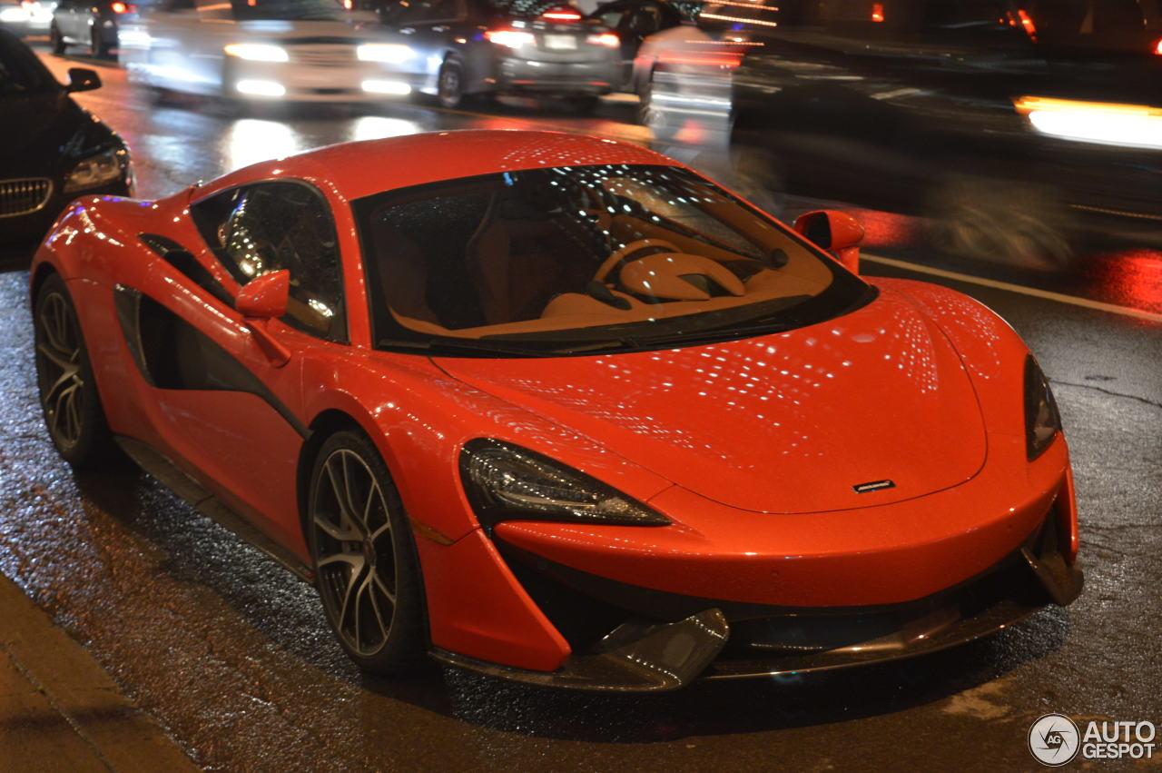 New McLaren 570S 1