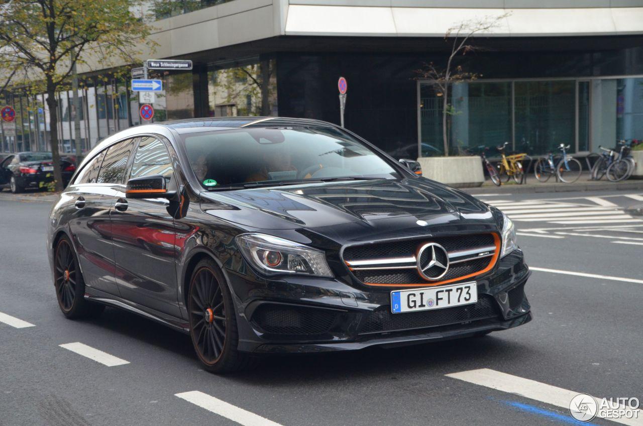 Mercedes Benz Cla 45 Amg Shooting Brake Orangeart Edition