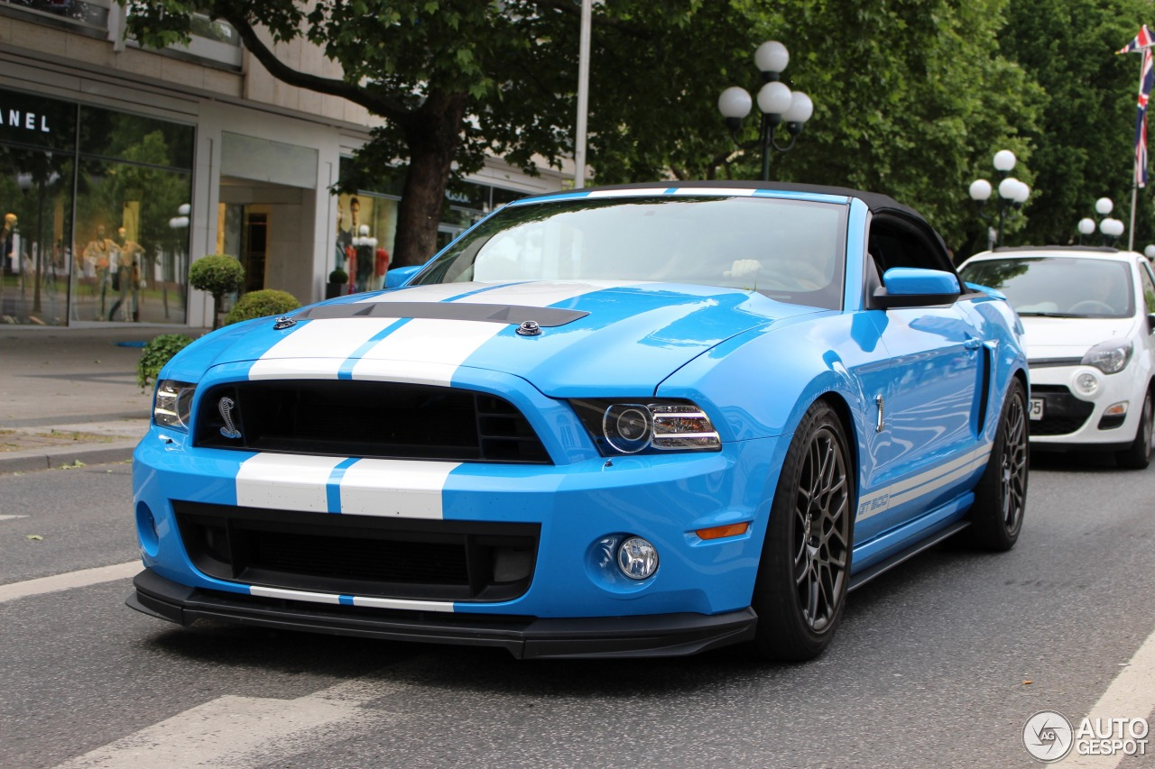 Ford Mustang Shelby Gt500 Convertible 2014 9 December