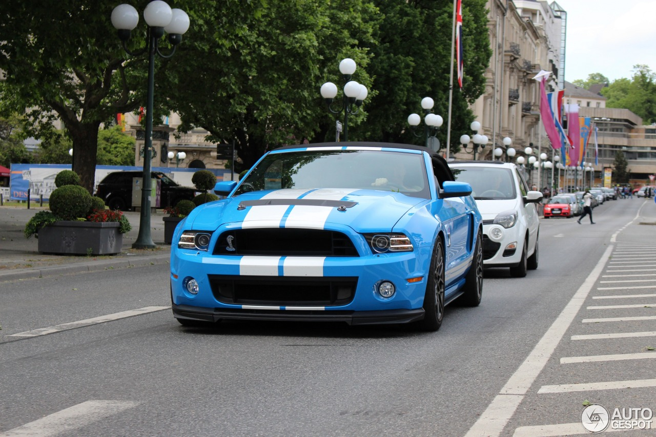 3 i ford mustang shelby gt500 convertible 2014 3
