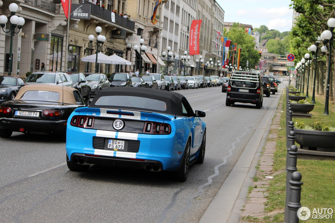 8 i ford mustang shelby gt500 convertible 2014 8