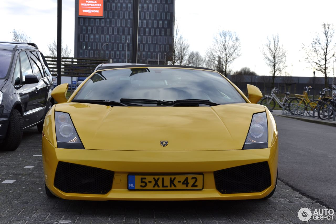 lamborghini gallardo spyder 10 december 2015 autogespot. Black Bedroom Furniture Sets. Home Design Ideas