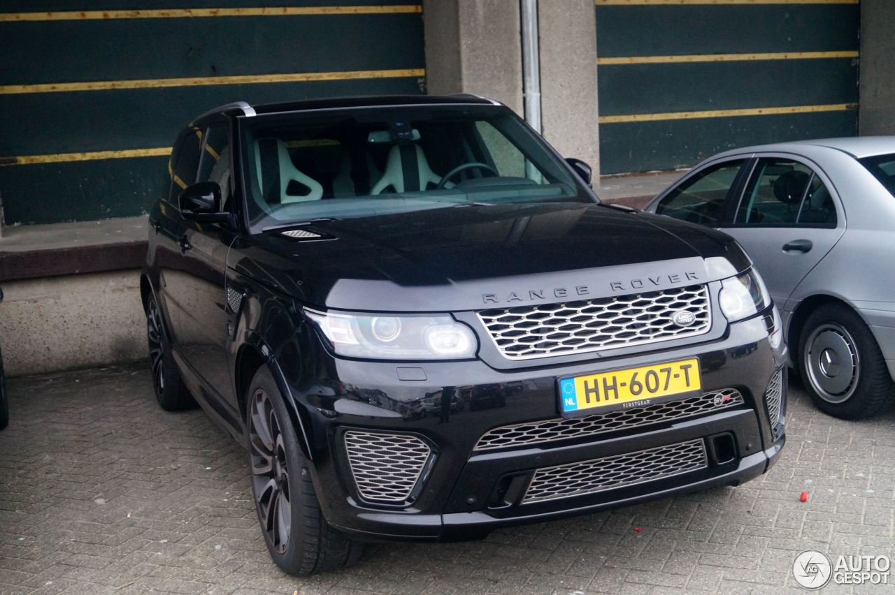 land rover range rover sport svr 10 dcembre 2015. Black Bedroom Furniture Sets. Home Design Ideas
