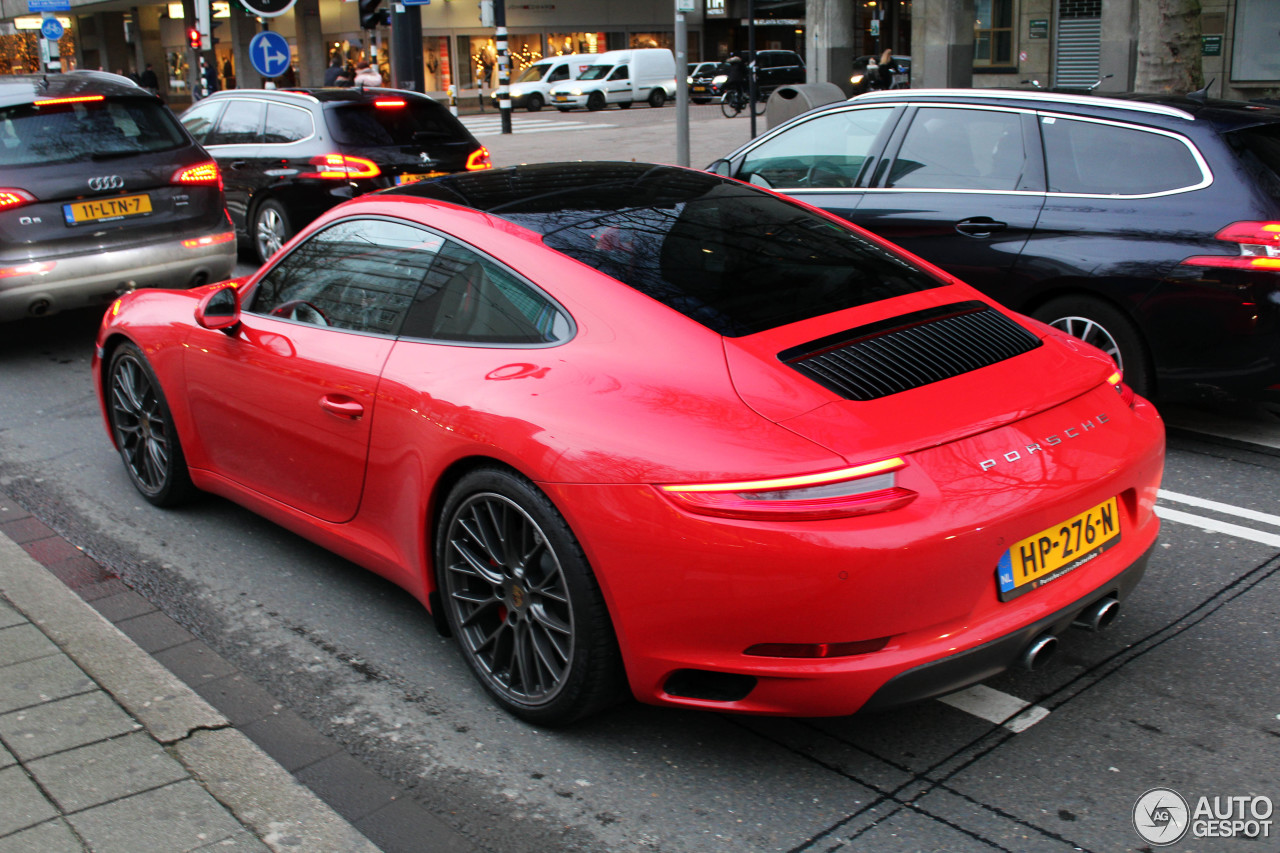 porsche 991 carrera s mkii 13 december 2015 autogespot. Black Bedroom Furniture Sets. Home Design Ideas