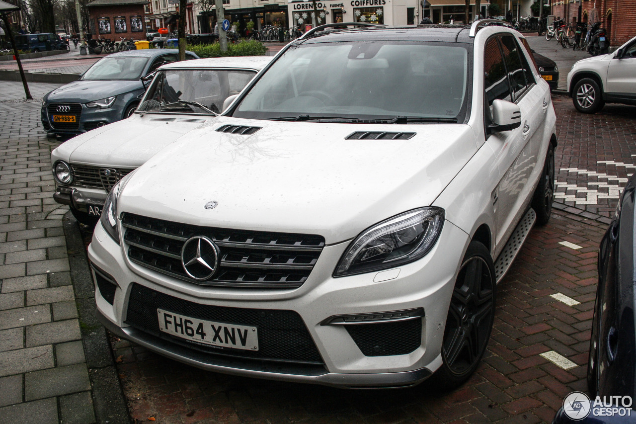 Mercedes benz ml 63 amg w166 18 december 2015 autogespot for Mercedes benz ml 2015