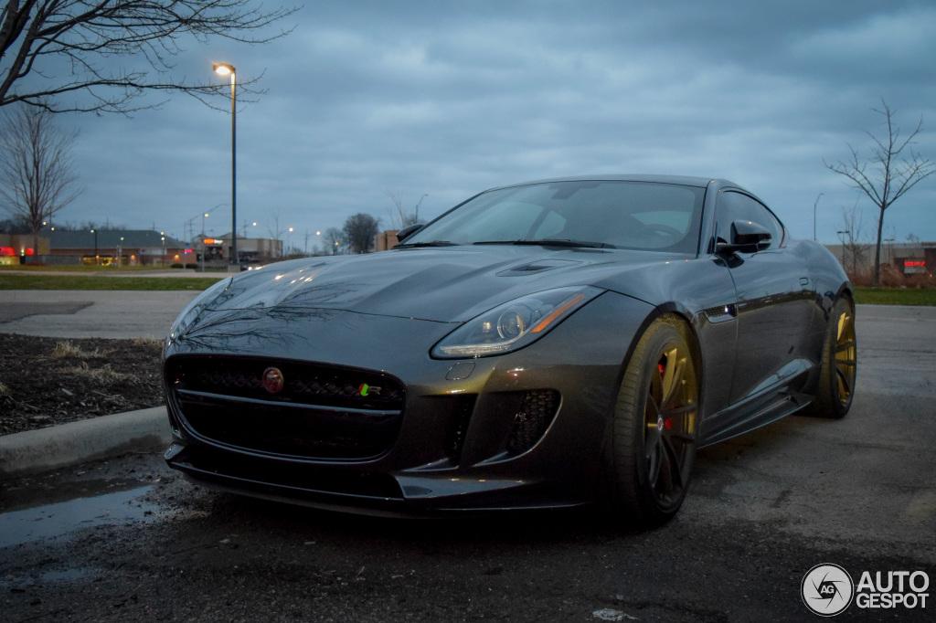jaguar f type r coupe black - photo #18