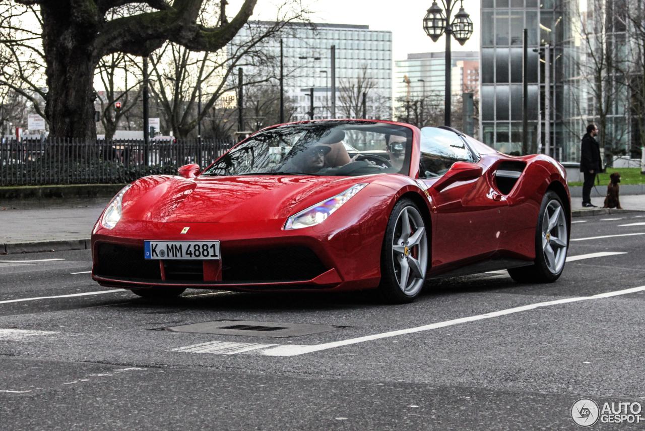 Ferrari 488 Spider 23 Dezember 2015 Autogespot