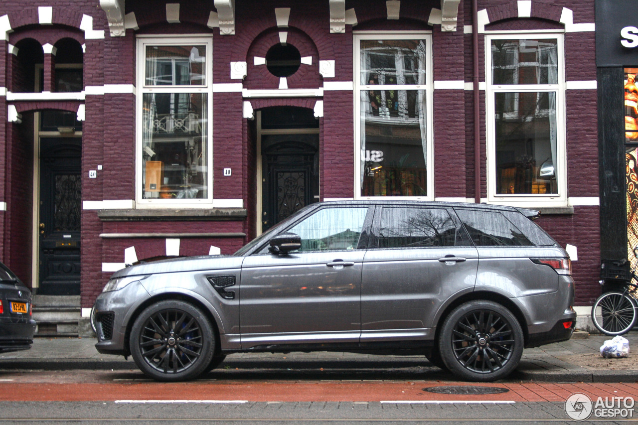 land rover range rover sport svr 23 december 2015 autogespot. Black Bedroom Furniture Sets. Home Design Ideas