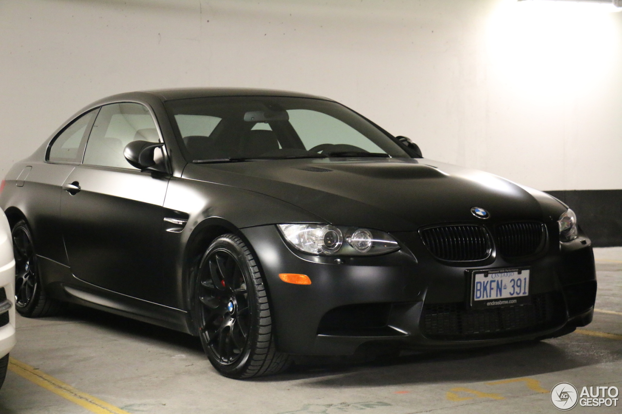 bmw m3 e92 coup frozen black edition 24 december 2015. Black Bedroom Furniture Sets. Home Design Ideas