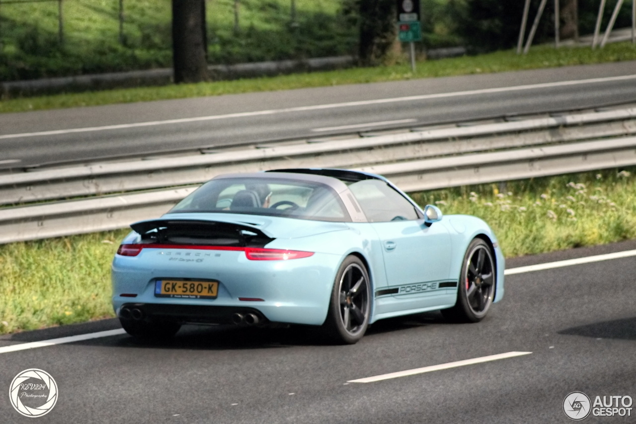 Porsche 991 Targa 4s Exclusive Edition 24 December 2015 Autogespot