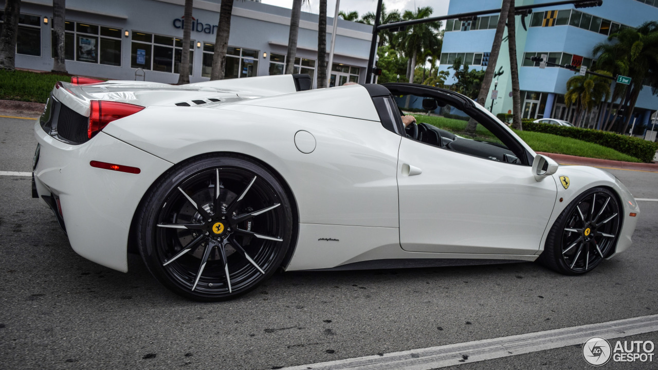 Ferrari 458 Spider  25 December 2015  Autogespot
