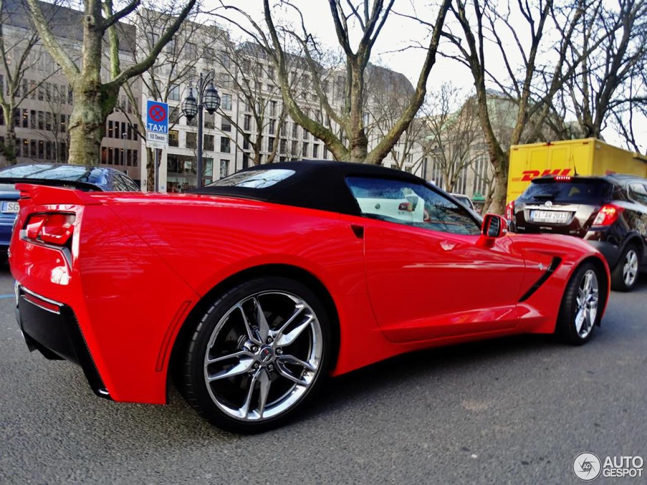 Chevrolet Corvette C7 Stingray Convertible 2