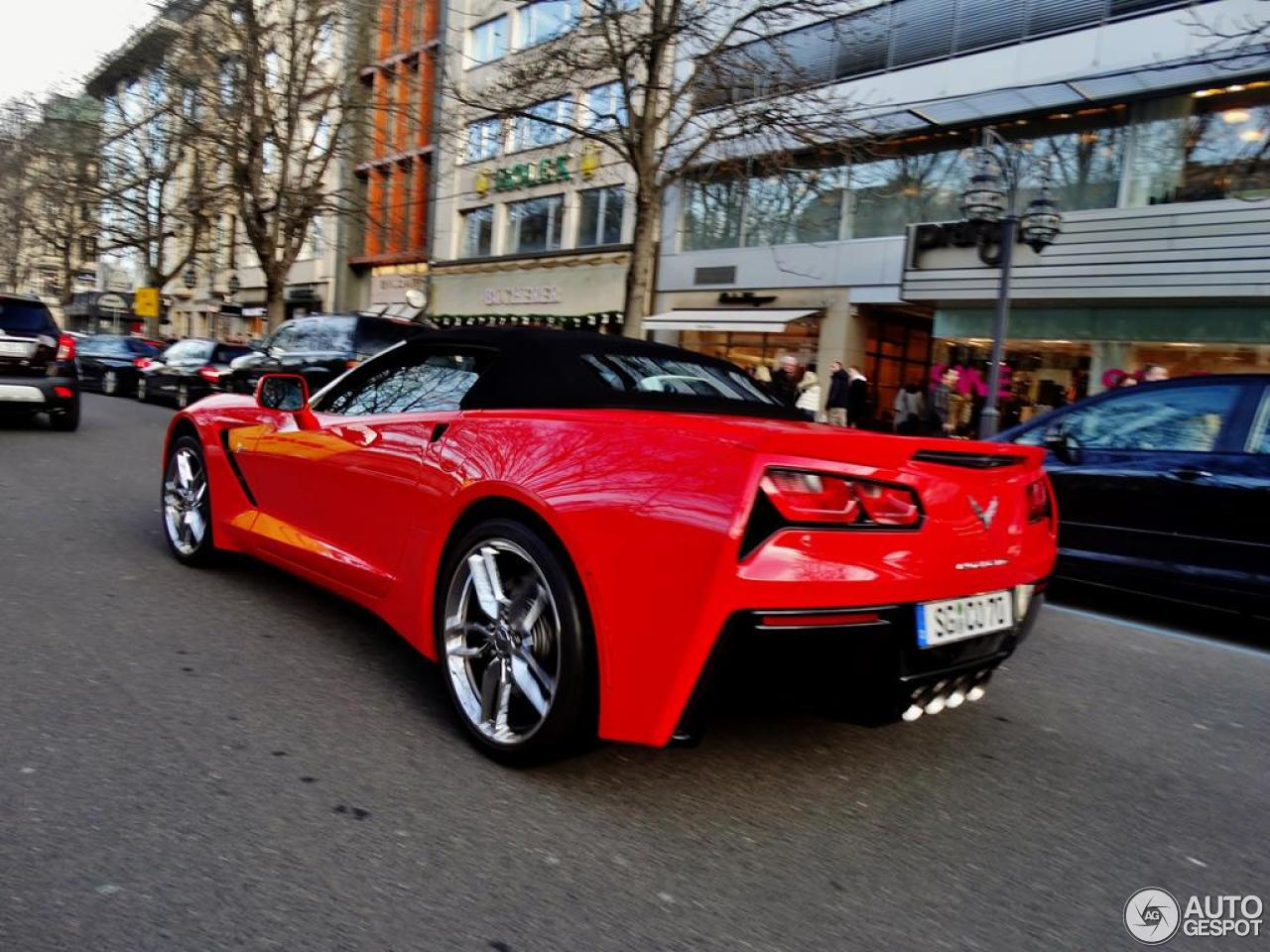 Chevrolet Corvette C7 Stingray Convertible 3