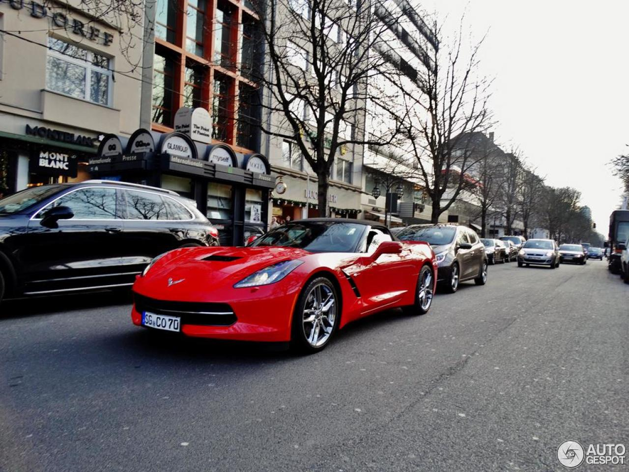 Chevrolet Corvette C7 Stingray Convertible 4