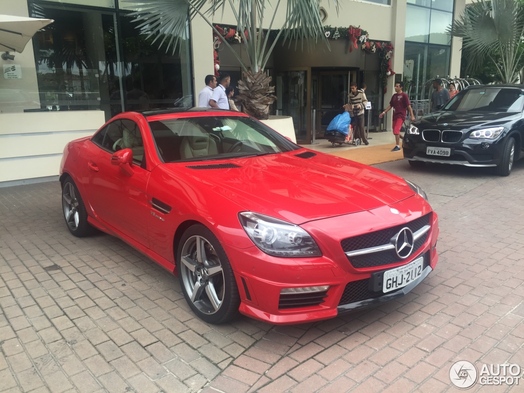 mercedes benz slk 55 amg r172 29 december 2015 autogespot. Black Bedroom Furniture Sets. Home Design Ideas