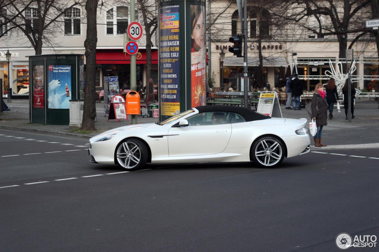 Aston Martin DB9 Volante 2013 2