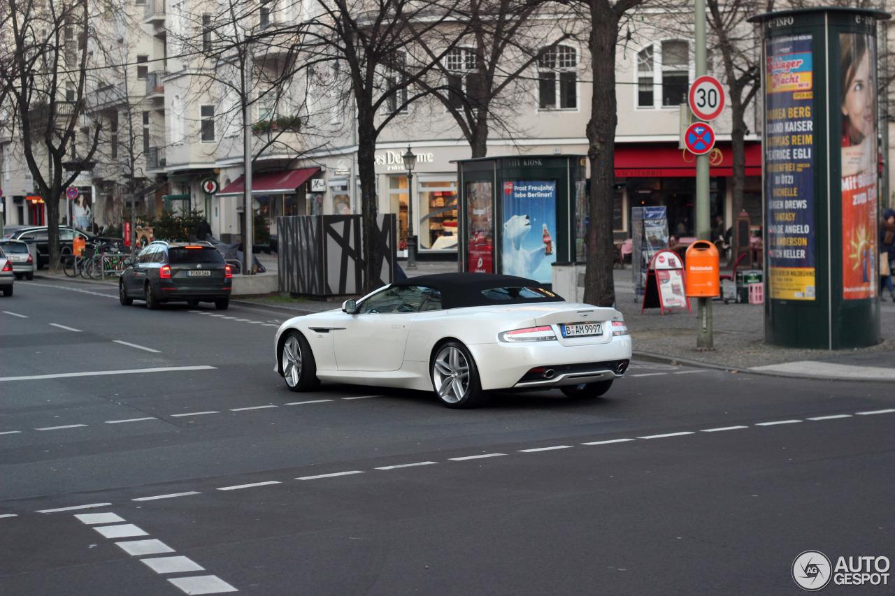 Aston Martin DB9 Volante 2013 4