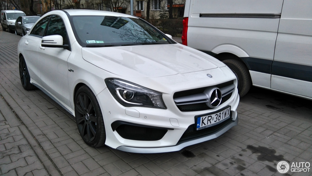 mercedes benz cla 45 amg c117 30 dcembre 2015 autogespot. Black Bedroom Furniture Sets. Home Design Ideas