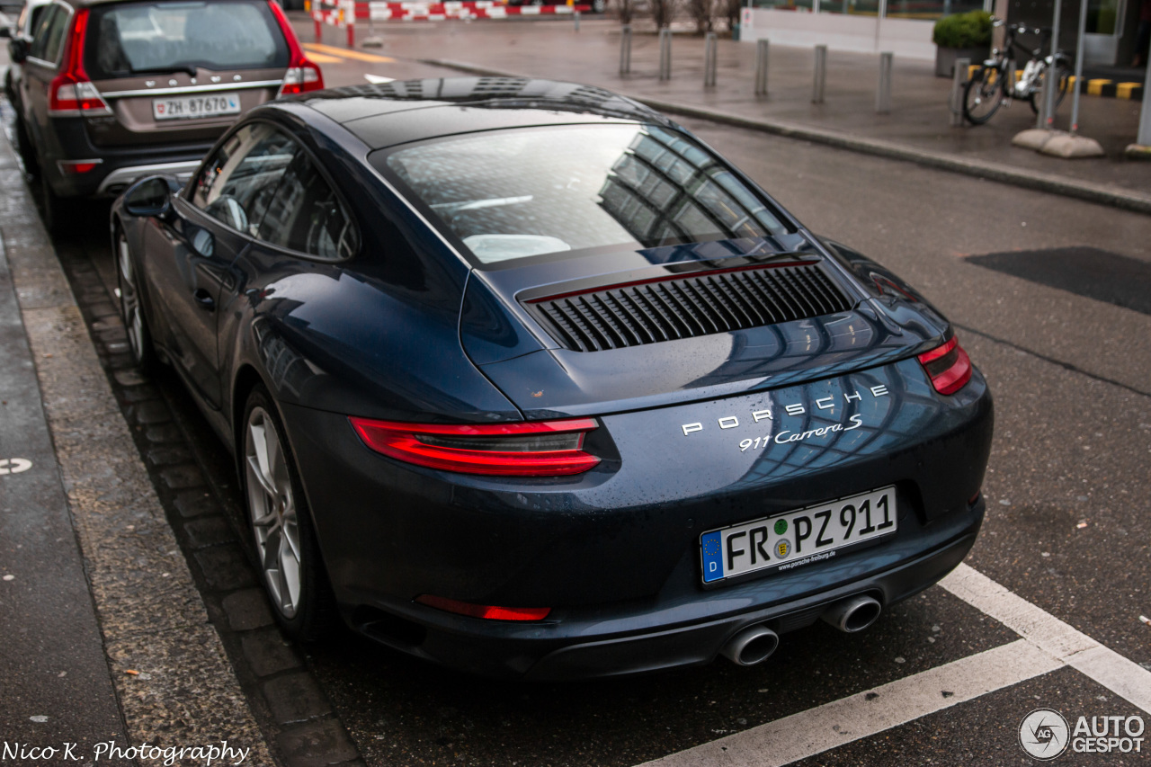 Porsche 991 Carrera S MkII  31 December 2015  Autogespot