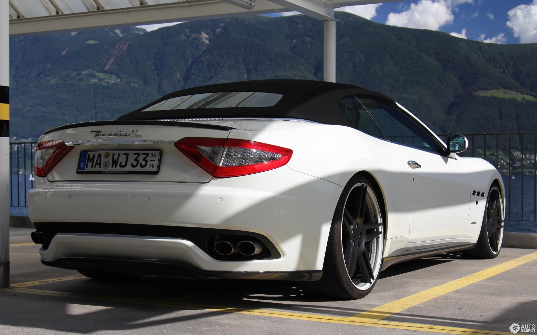 Maserati GranCabrio Novitec Tridente