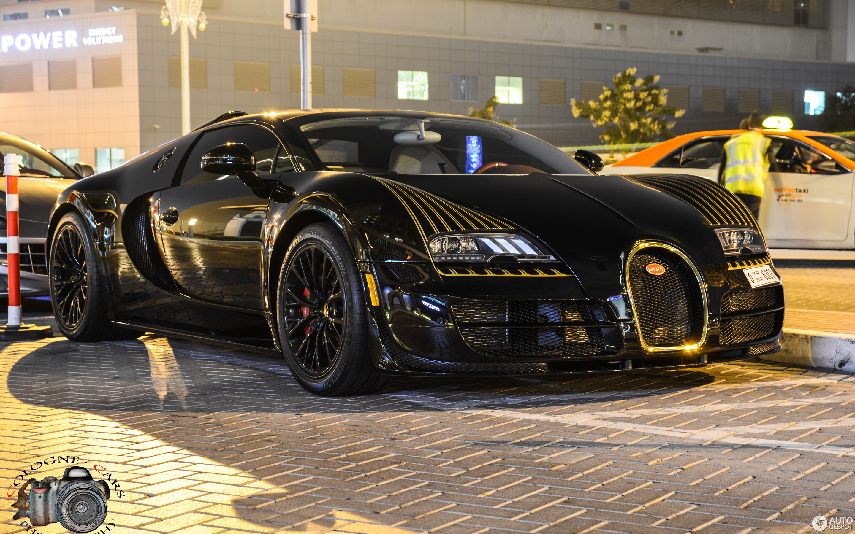 Bugatti Veyron 16.4 Grand Sport Vitesse Black Bess - 2 January 2015 ...