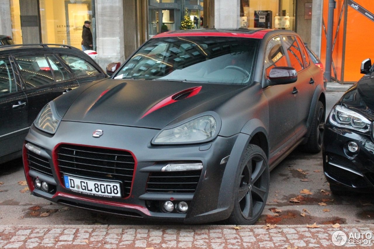 porsche cayenne techart magnum 2007 5 janvier 2015 autogespot. Black Bedroom Furniture Sets. Home Design Ideas