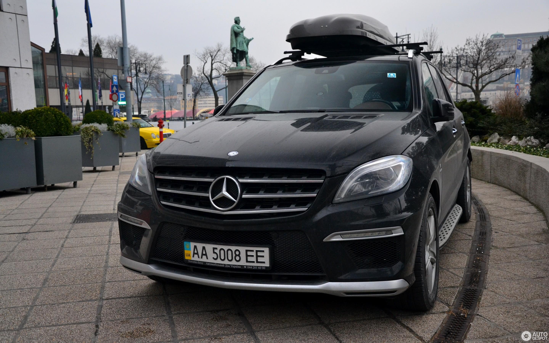 Mercedes Benz ML 63 AMG W166 9 Januar 2015 Autogespot