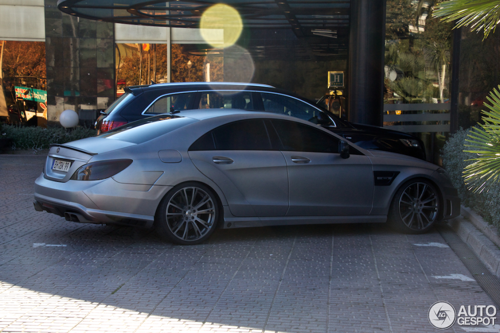 Mercedes Benz Brabus Cls 850 10 January 2015 Autogespot