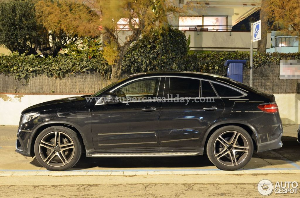 Mercedes amg gle 63 coupe 19 january 2015 autogespot for Mercedes benz gle 63 amg